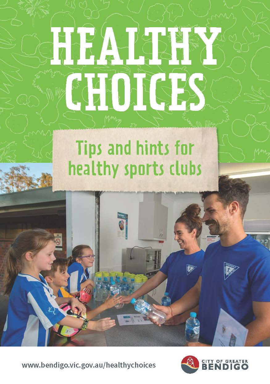Healthy Choices Tips and Hints for Healthy Sports Clubs doc